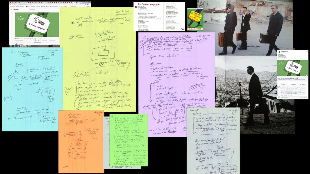 LE BOULON VOYAGEUR  documents (Tim-Punk-demo)