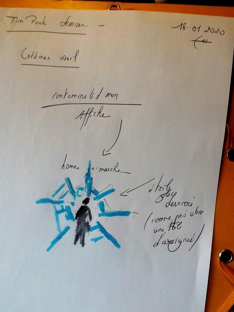 Cold Man (projet affiche)