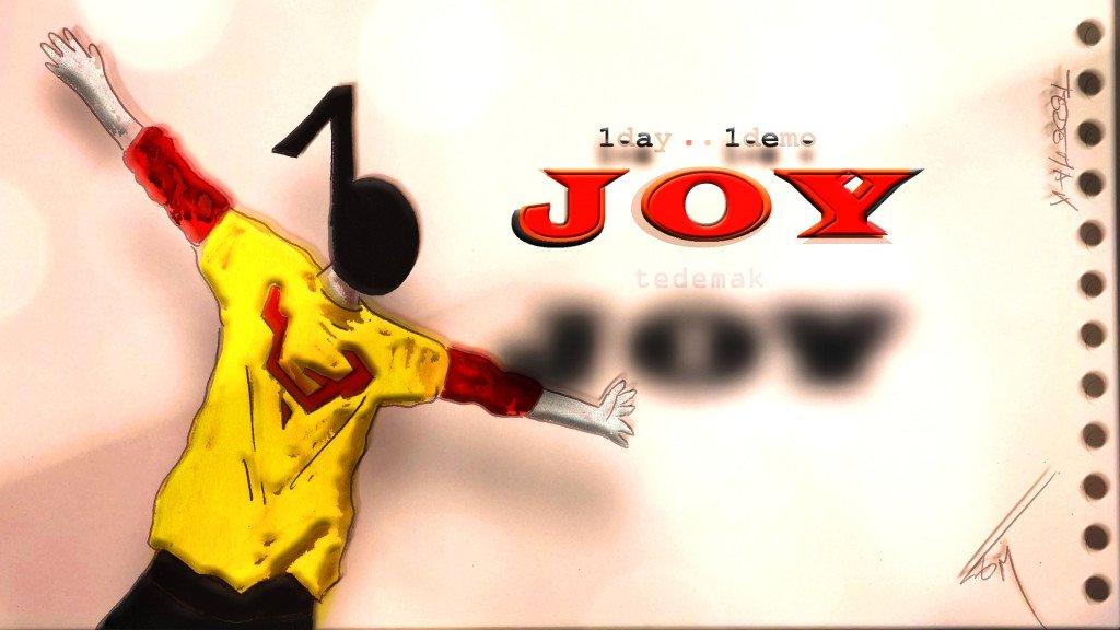 TEDEMAK - joy (visuel)