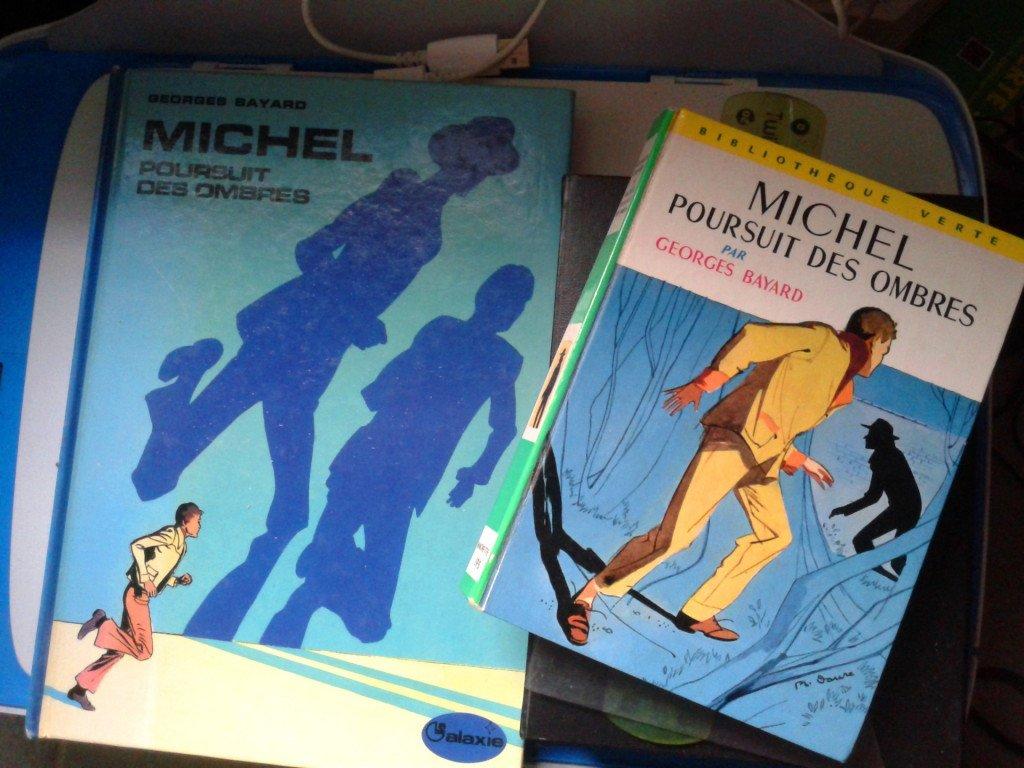 Michel poursuit des ombres (2 couvertures+)